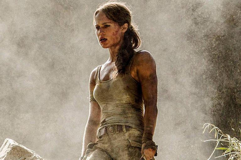 Alicia Vikander como Lara Croft na nova adaptação de 'Tomb Raider'