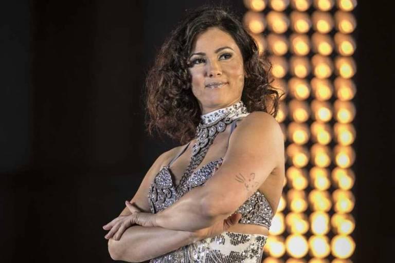 Suzana Alves no 'Dancing Brasil'