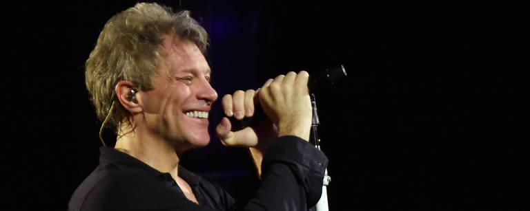 Bon Jovi em show – Mike Coppola - 3.dez.2016/AFP
