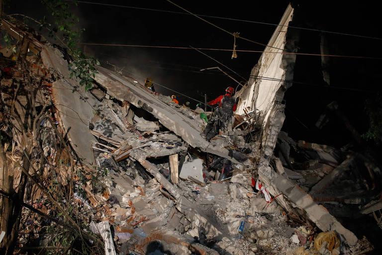 Terremoto Cidade do México