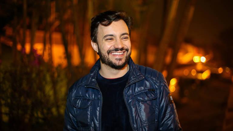 Rafael Primot na inauguração do Circuito Spcine de Cinema