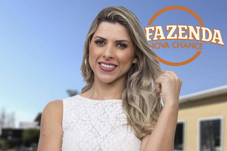 "A modelo Ana Paula Minerato é famosa por desfilar na escola de samba Gaviões da Fiel, e foi a segunda colocada na ""A Fazenda 8"""