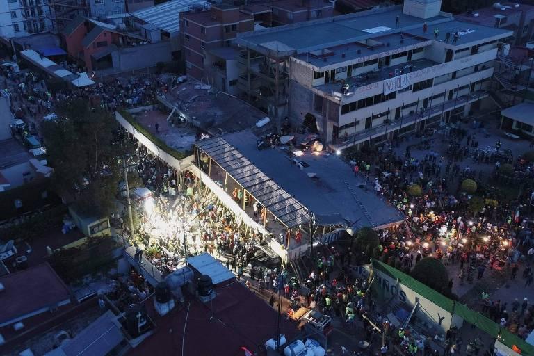 Terremoto Cidade do M�xico
