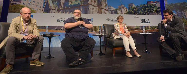Debate sobre revitalização do centro de SP – Reinaldo Canato/Folhapress