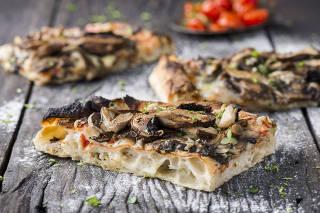 MississippiPizza Bar combina pizza romana e blues na Vila Madalena