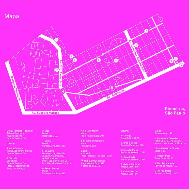 Mapa do Nu Festival