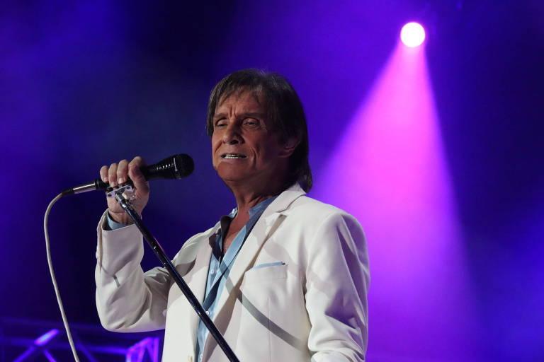 Roberto Carlos se apresenta Ginásio do Ibirapuera nesta sexta