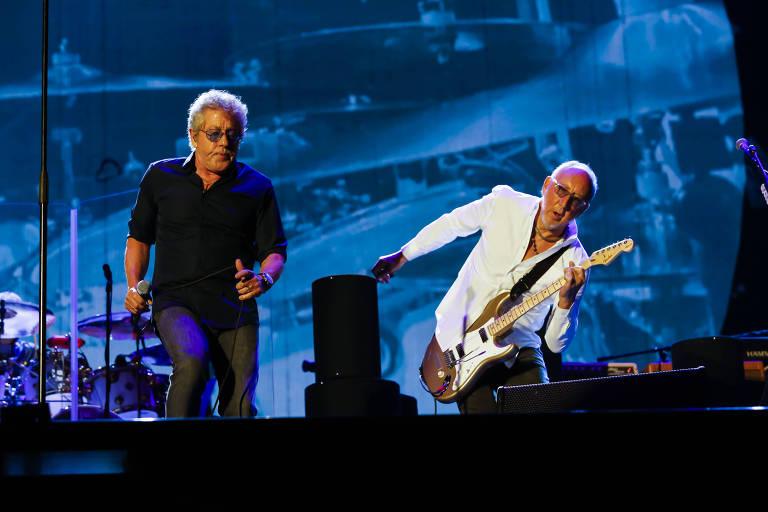Show da banda The Who em São Paulo