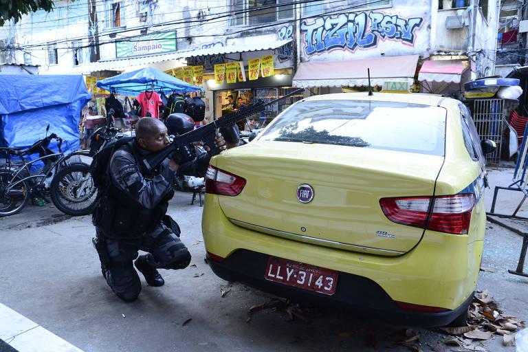 Tiroteo en la favela Rocinha