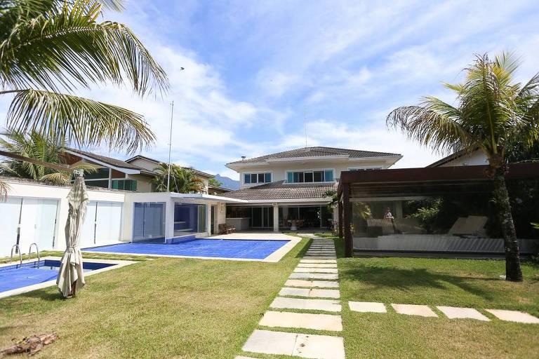 Casa de Sérgio Cabral em Mangaratiba