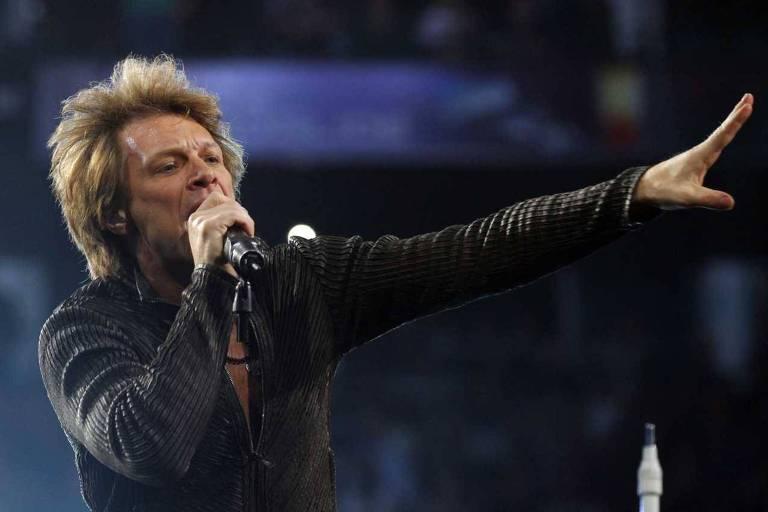 Bon Jovi se apresenta neste sábado em São Paulo