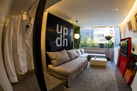 SAO PAULO - SP - BRASIL, 24-08-2016, 16h20: MICRO APARTAMENTO. Apartamento decorado de 28m no Espaco Vitacon (Foto: Adriano Vizoni/Folhapress, MORAR) ***EXCLUSIVO FSP***