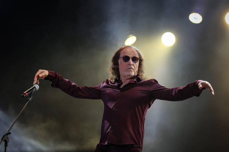 Alceu Valença faz show na Casa Natura Musical