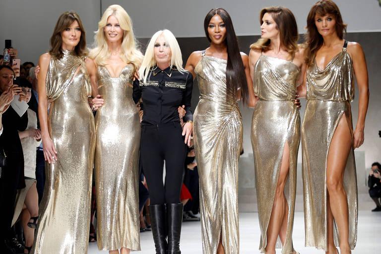 Desfile Versace