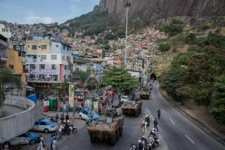 ROCINHA CONFLITO RIO