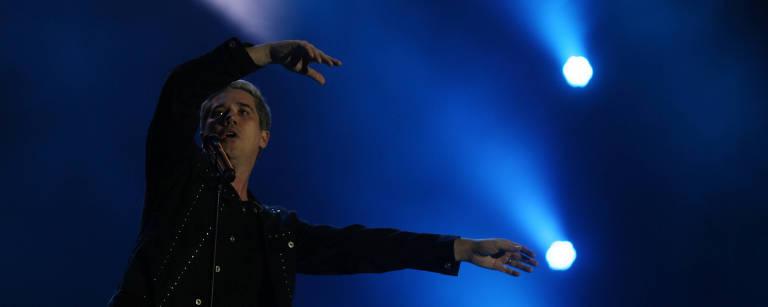 Rogério Flausino, vocalista do Jota Quest – Pilar Olivares/Reuters