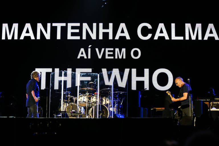 RIO DE JANEIRO/RJ BRASIL. 22/09/2017 - Tears for Fears, durante o Rock in Rio, realizado no Parque Olimpico na Barra da Tijuca.(foto: Zanone Fraissat/FOLHAPRESS, ILUSTRADA)***EXCLUSIVO***