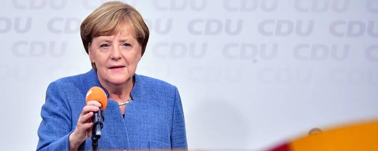 Angela Merkel – Tobias Schwarz/AFP