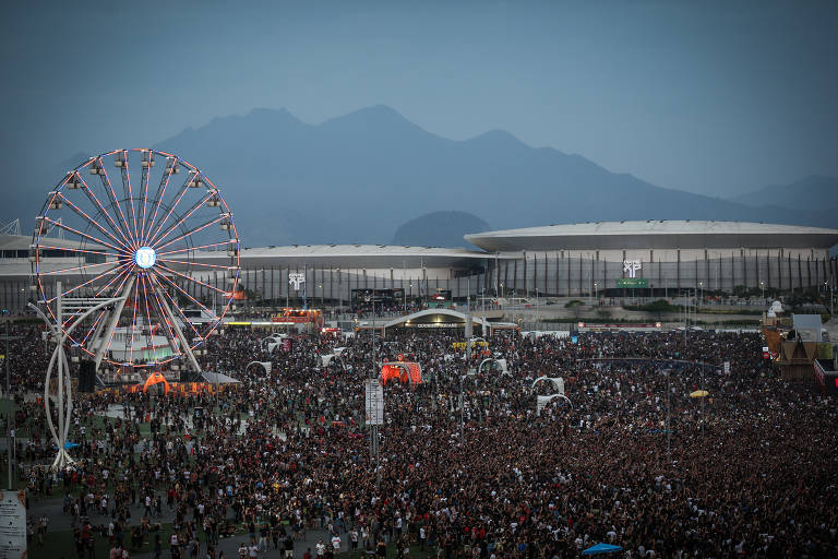 Rock in Rio 2017 - último dia