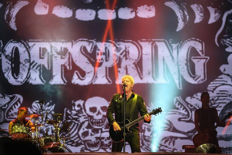 Banda já se apresentou duas vezes no Rock in Rio e toca regularmente no Brasil
