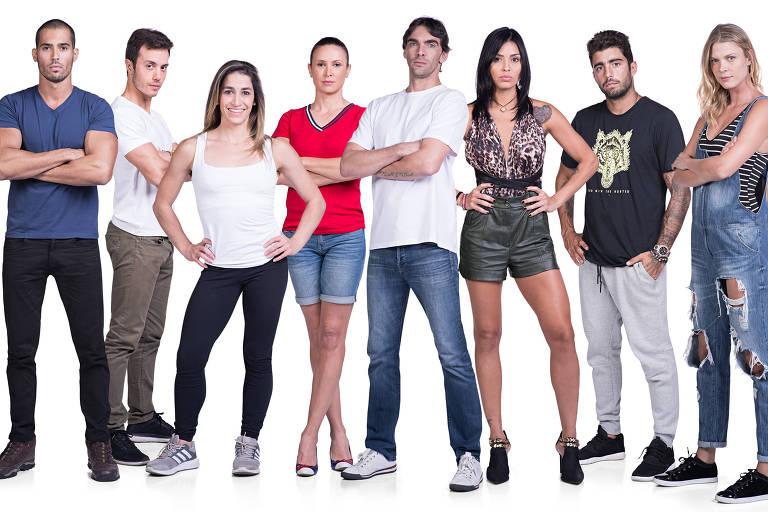 Os participantes do 'Exathlon', novo reality da Band