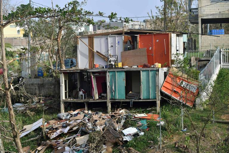 Porto Rico ap�s o furac�o Maria