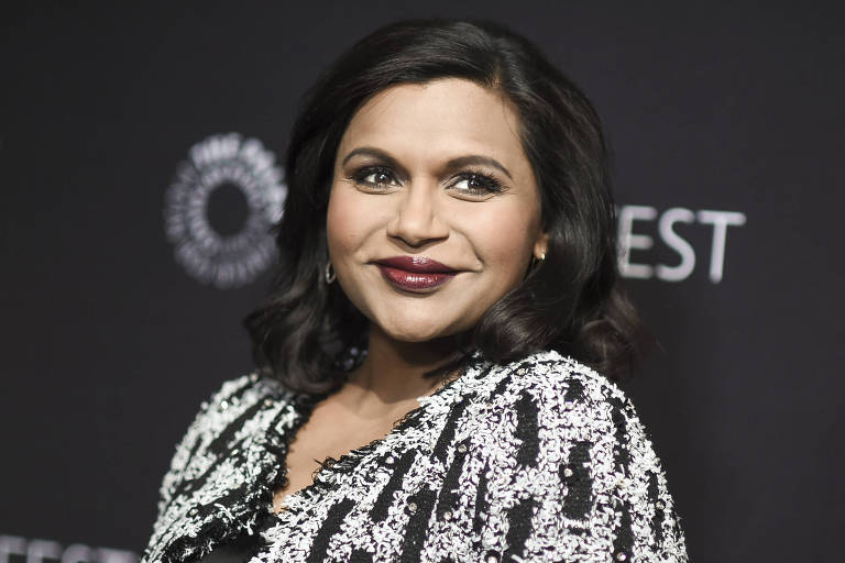 A atriz indiana Mindy Kaling, de 'The Mindy Project' embolsou US$ 13 milh�es neste ano