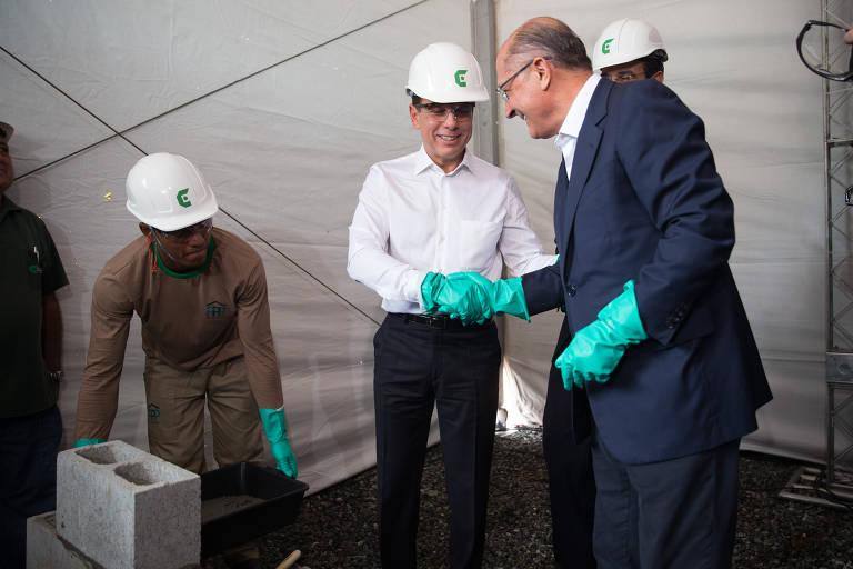 Alckmin e Doria - na alegria e na tristeza