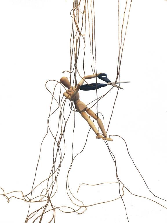 Caderno Gestão Escolar marionetes de madeira produzidas pelo artista Herman Tacasey Foto: Herman Tacasey DIREITOS RESERVADOS. NÃO PUBLICAR SEM AUTORIZAÇÃO DO DETENTOR DOS DIREITOS AUTORAIS E DE IMAGEM