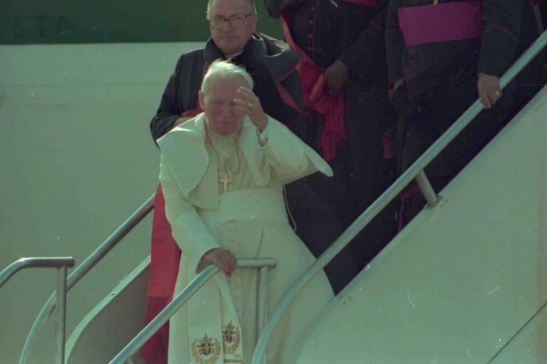 Visita do Papa ao Brasil em 1997