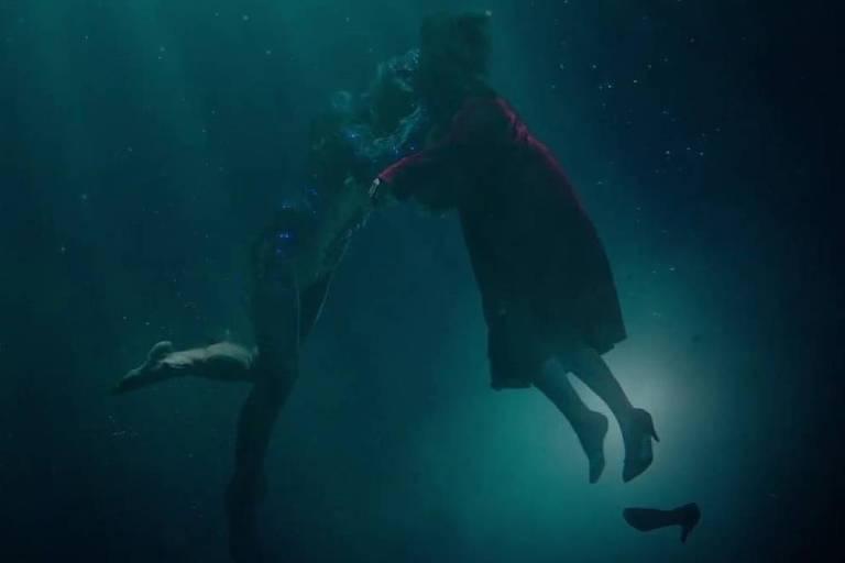 Cena do filme 'A Forma da Água'