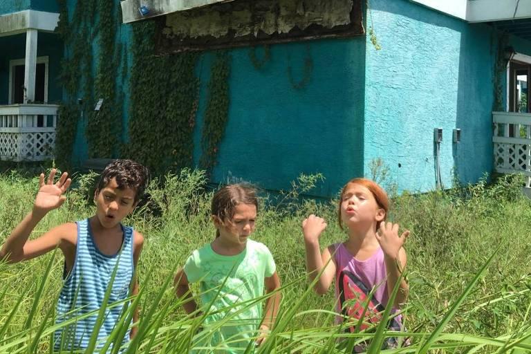 Cena do filme 'The Florida Project