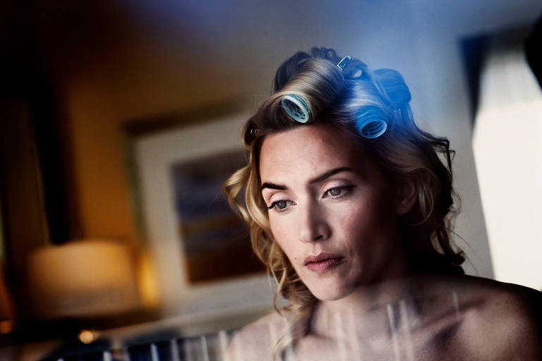 Kate Winslett, fotografada pelo italiano Paolo Pellegrin