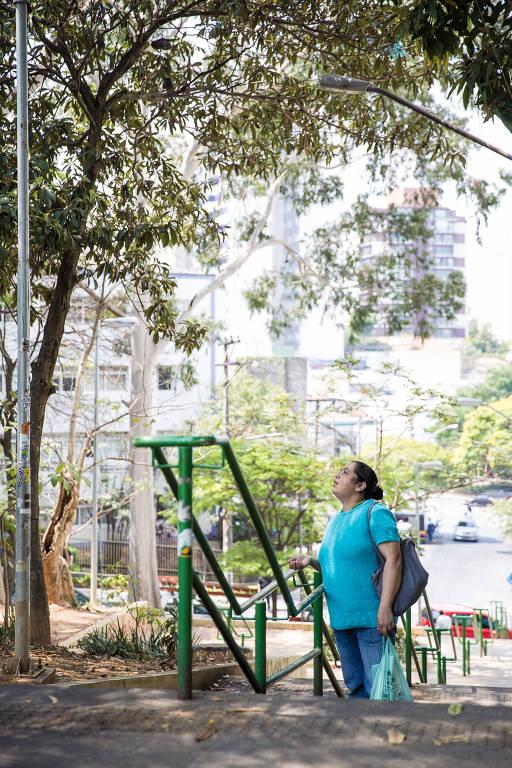 """Árvore que """"chora"""" da Vila Madalena intriga pedestres"""
