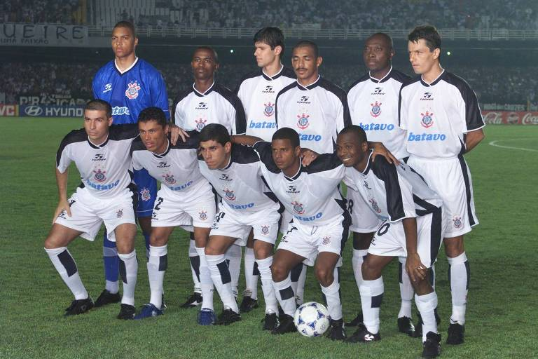 Equipe corintiana vencedora do Mundial de Clubes da Fifa, em 2000