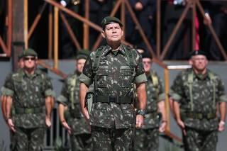 O general Antônio Hamilton Martins Mourão