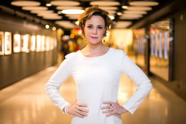 A atriz Vanessa Gerbelli, que está na peça 'Do Outro Lado'