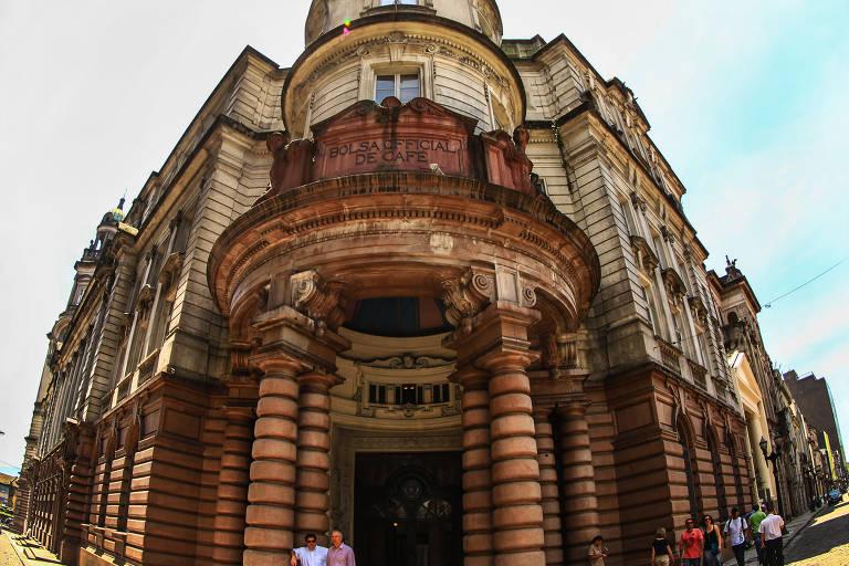 Museu do Café, em prédio da antiga Bolsa Oficial do Café