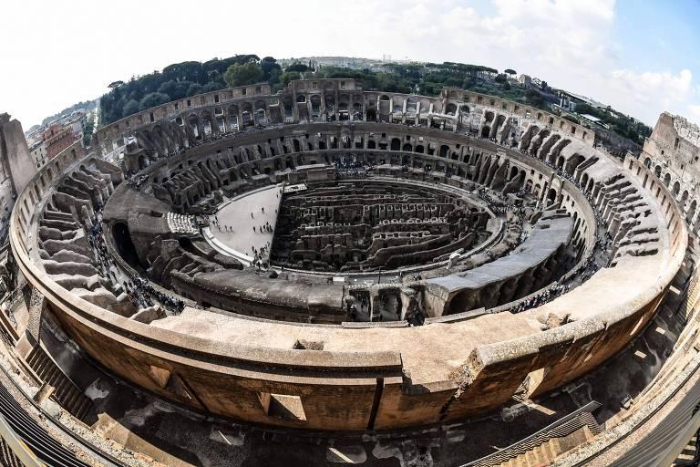 Novos andares do Coliseu