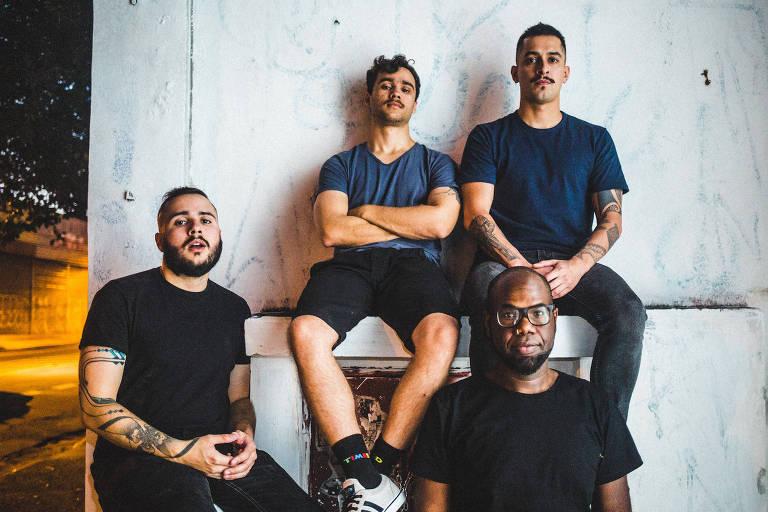 A banda Bratislava está no line-up do festival Fora da Casinha 2017