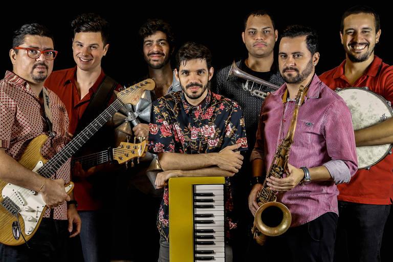 A banda Silibrina está escalada para tocar no Sampa Jazz Fest