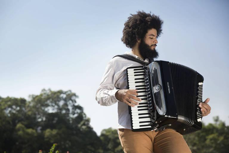 O acordeonista sergipano Mestrinho está escalado no line-up