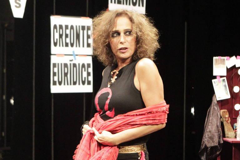 Andrea Beltr�o reestreia 'Ant�gona' em S�o Paulo