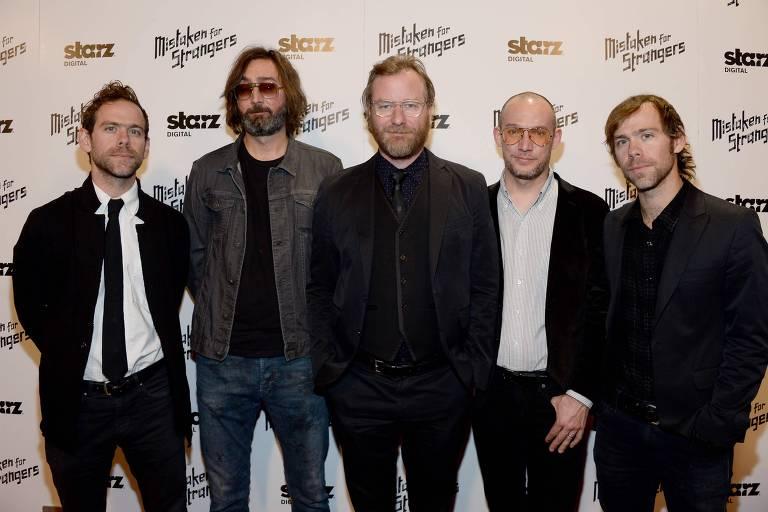 A banda norte-americana The National lan�ou sete �lbuns nos �ltimos 17 anos