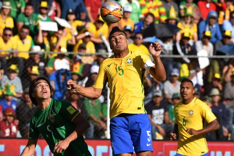 Brasil x Bol�via