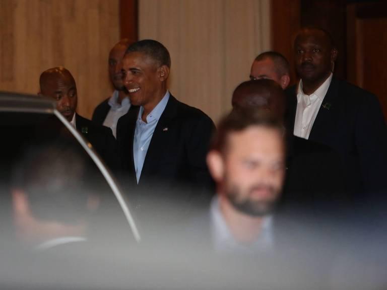 Obama em jantar em SP