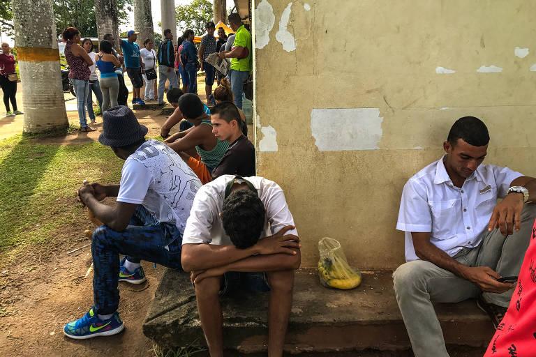 Rota de fuga da Venezuela