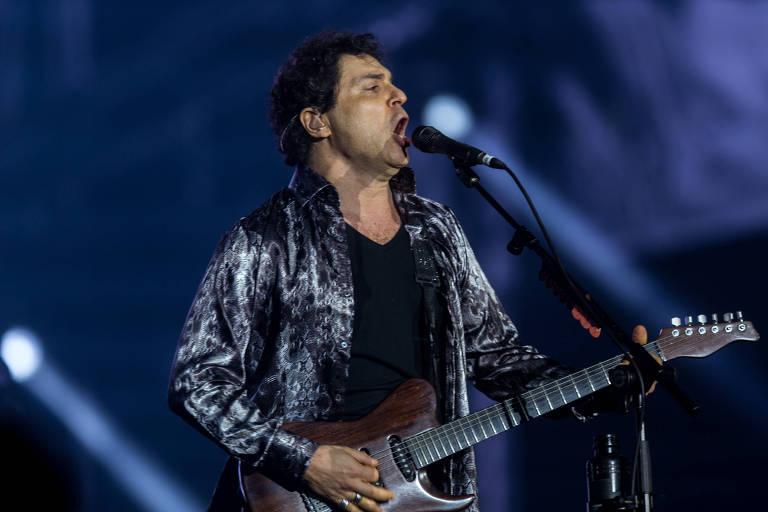 O cantor Frejat se apresenta neste sábado no Tom Brasil