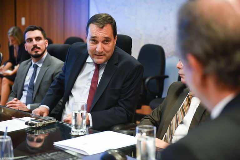 Luiz Carlos Cancellier durante a sua posse como reitor