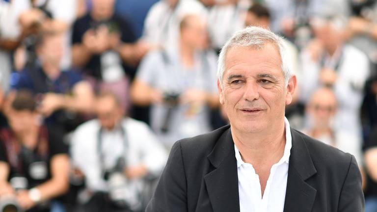 O diretor Laurent Cantet no Festival de Cannes